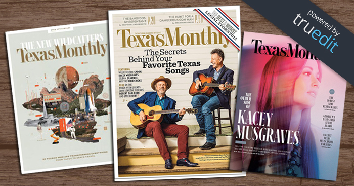 TruEdit Powered Content and Workflow Management for Texas Monthly